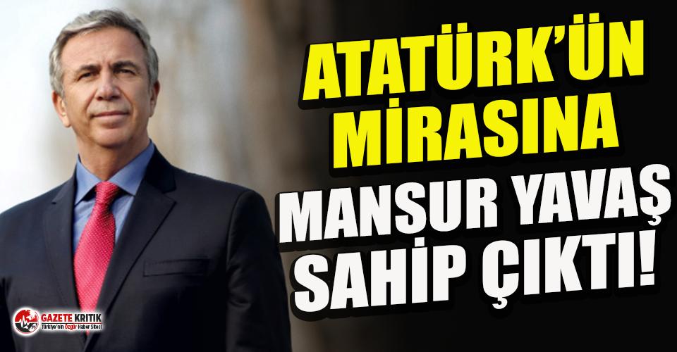 Mansur Yavaş, 26 yıldır dokunulmamış mirasa sahip...