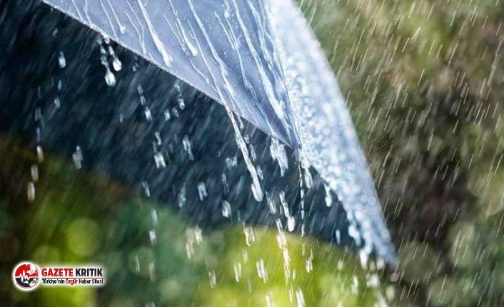 Meteoroloji'den 2 ile kuvvetli yağış uyarısı!