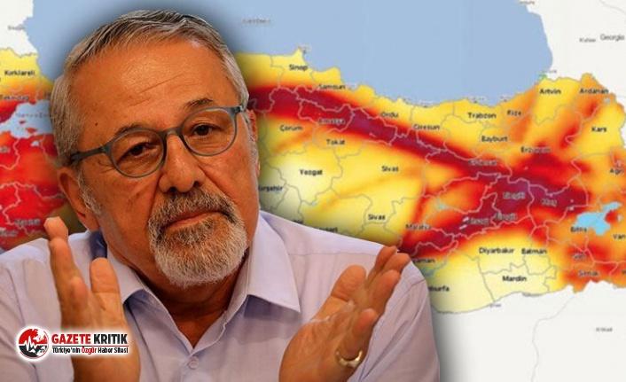 Prof. Dr. Naci Görür'den İstanbul için kırmızı...
