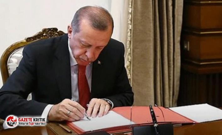 Resmi Gazete'de yayımlandı! Erdoğan'dan...