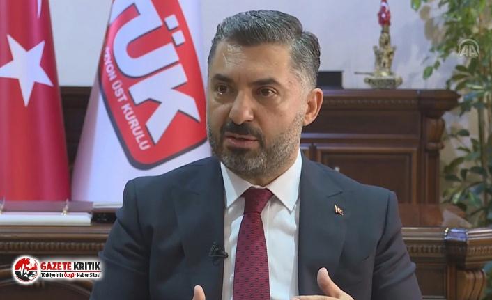 RTÜK Başkanı Şahin: RTÜK'ün sadece ceza...