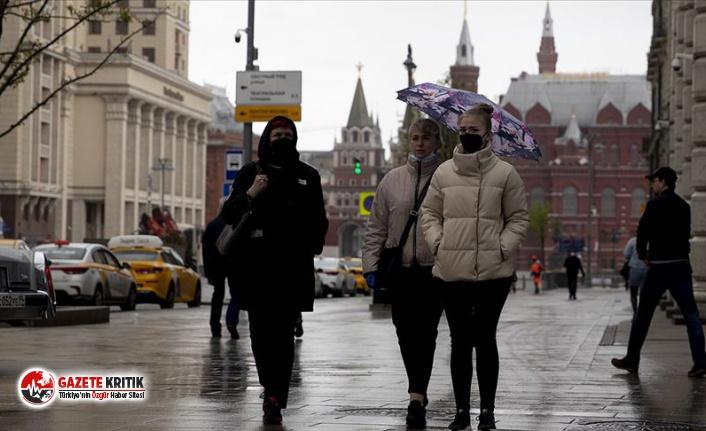Rusya'da son 24 saatte 12 bin 846 yeni vaka tespit...
