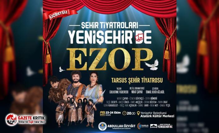Şehir Tiyatroları Yenişehir'de!
