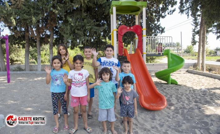 Silifkeli çocuklar park istedi, Başkan Seçer yerine...