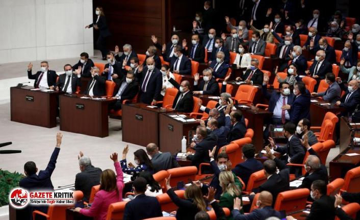 Suudi Arabistan ambargosu için verilen önerge AKP ve MHP oylarıyla reddedildi
