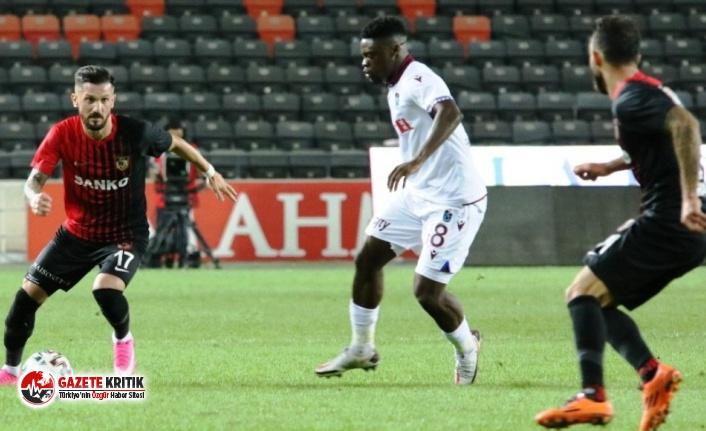 Trabzonspor'da Caleb Ekuban koronaya yakalandı