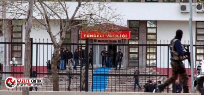 Tunceli'de eylem ve etkinliklere yasak