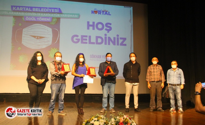 Uluslararası Covid-19 Karikatür Yarışması Ödül...