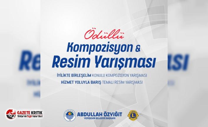 Yenişehir Belediyesinden ödüllü kompozisyon ve resim yarışması