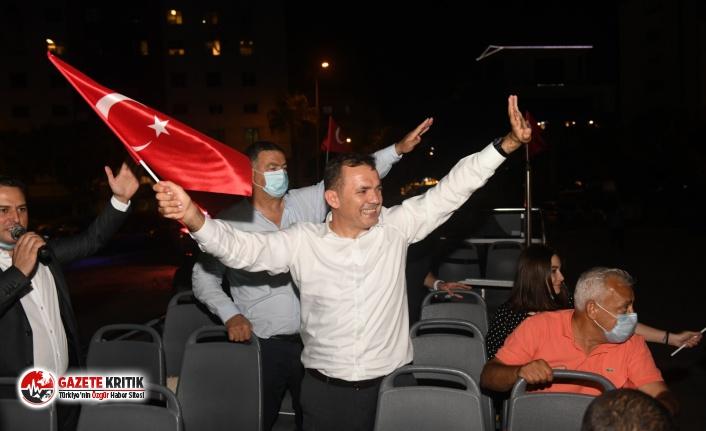 Yenişehir sokaklarında Cumhuriyet coşkusu