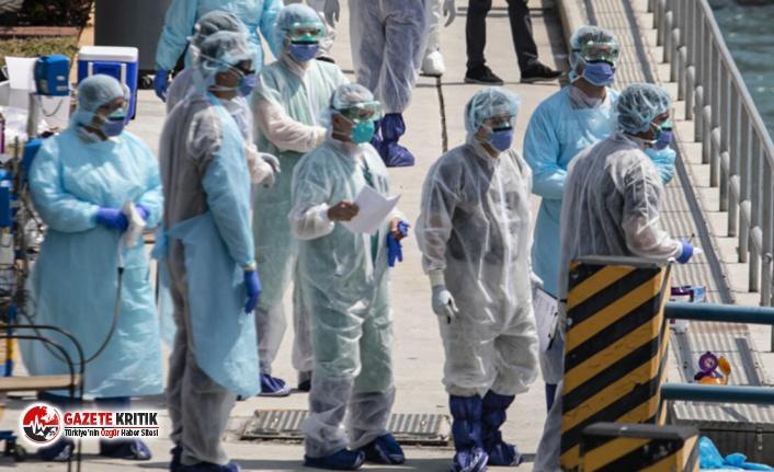 ABD'de Koronavirüs'ten ölenlerin sayısı...
