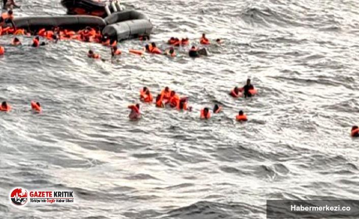 Akdeniz'de göçmen teknesi battı: 1'i...