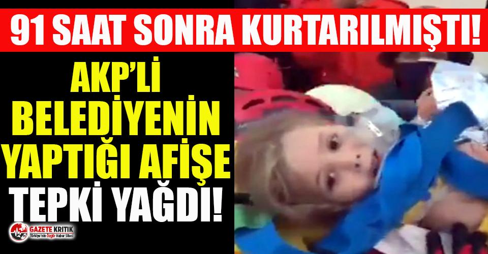 AKP'li belediyenin 91 saat sonra enkazdan kurtarılan...