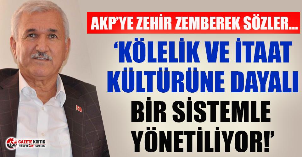 AKP'nin kurucu isimlerinden  Kemal Albayrak AKP'yi topa tuttu!