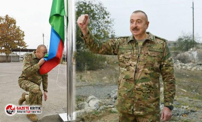 Aliyev'den Karabağ'da zafer turu!
