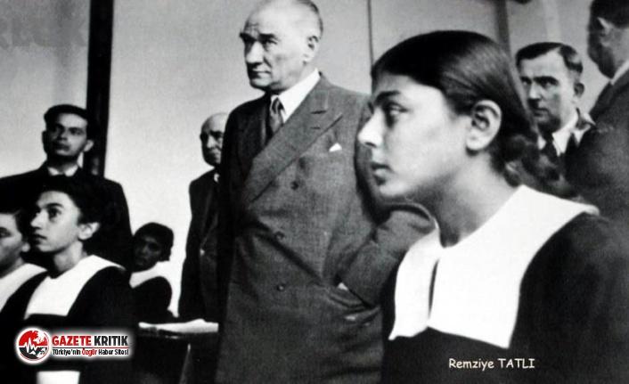 Atatürk'le çekilen fotoğrafı hafızalara kazınan...
