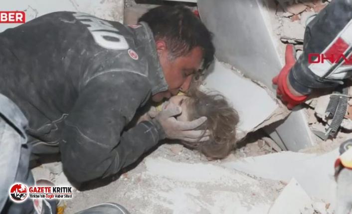 Ayda bebek 91 saat sonra Rıza Bey apartmanı enkazından...