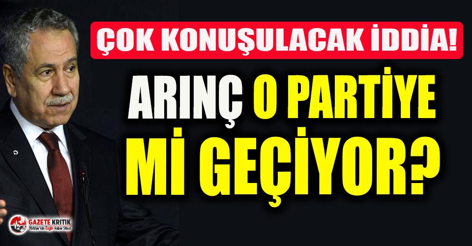 Bomba iddia! Bülent Arınç ve çok sayıda AKP'li vekil o partiye katılacak