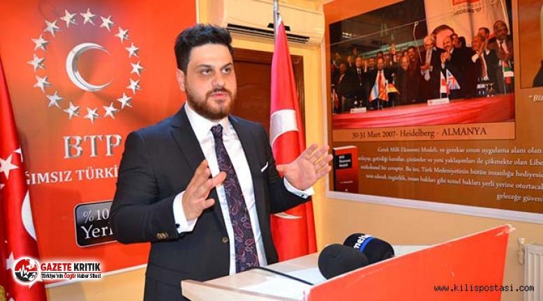 BTP lideri Hüseyin Baş: Türkiye'nin tam kapanmayı sağlayacak imkânları var