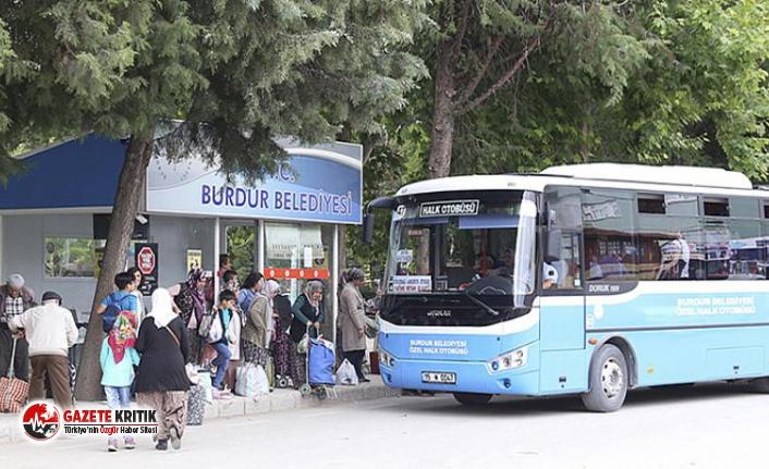 Burdur Belediyesi toplu taşıma araçlarında HES...