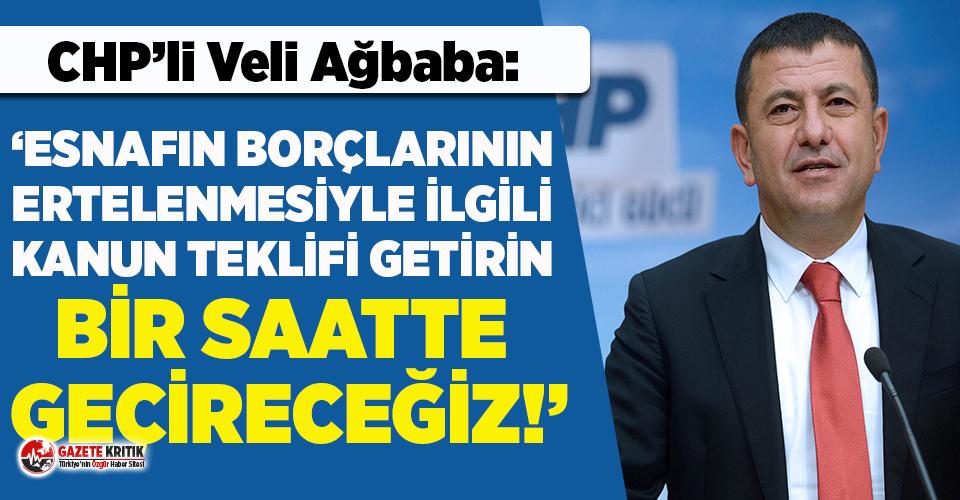 CHP Genel Başkan Yardımcısı Ağbaba'dan milletvekillerine...