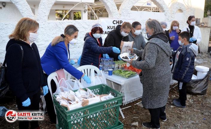 CHP'li Kadınların Depremzedelerle Dayanışma...