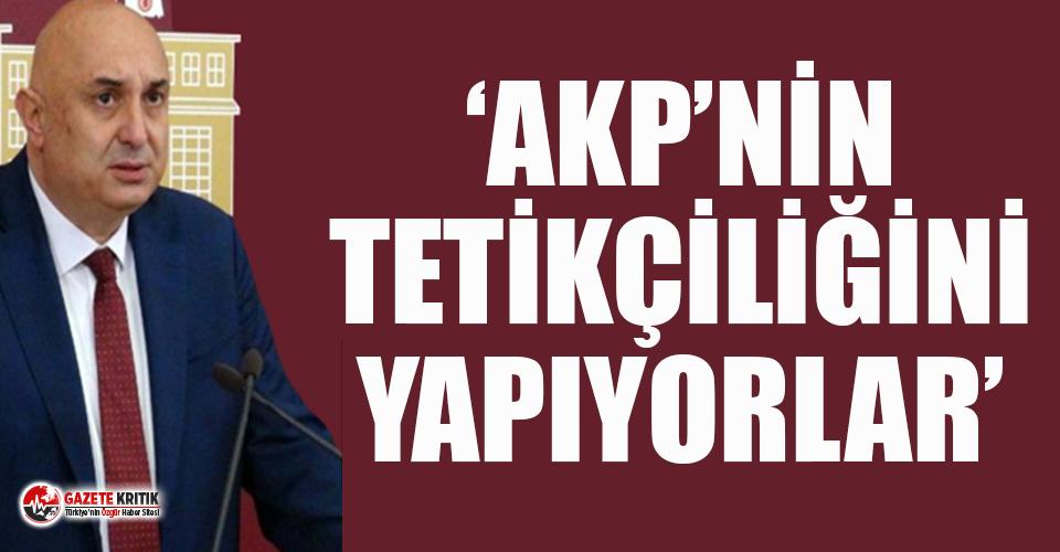 CHP'li Özkoç'tan MHP'nin, Kılıçdaroğlu...