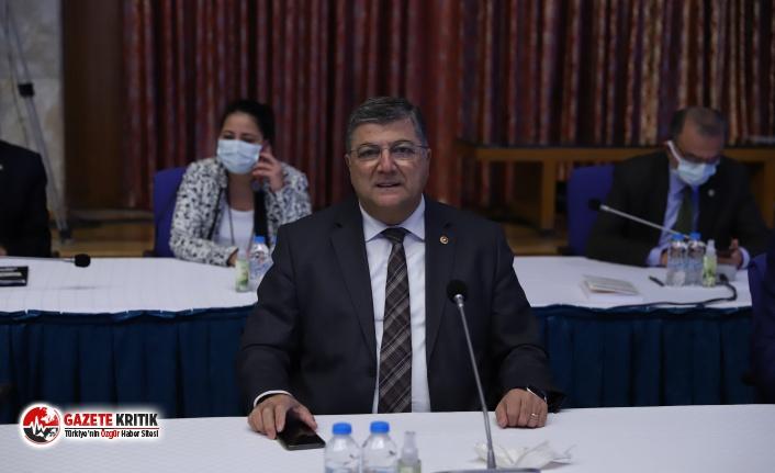 """CHP'li Sındır: """"Kanal İstanbul devlet değil, bir hükümet projesidir!"""