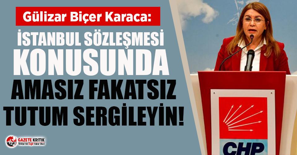 CHP'li vekilden Bakana çağrı: İstanbul Sözleşmesi...