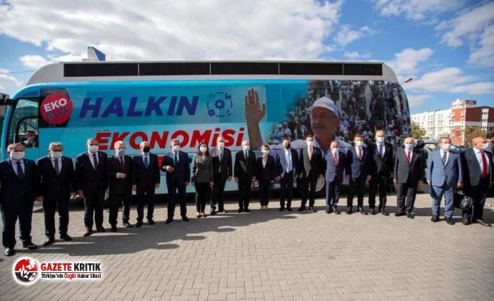 CHP'nin ekonomi otobüsünün ilk durağı belli...