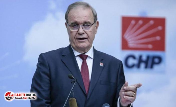 CHP Sözcüsü Öztrak:Mafya bozuntularına, sözde...