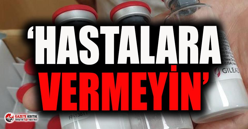 DSÖ'den Türkiye'de kullanılan ilaç için...