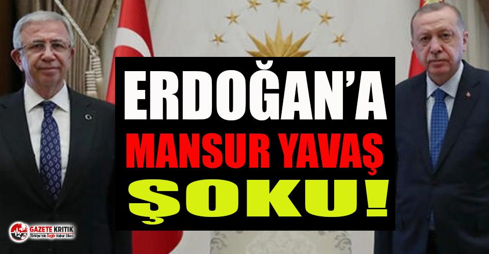 Erdoğan'a Mansur Yavaş şoku: Oyları eriyor!