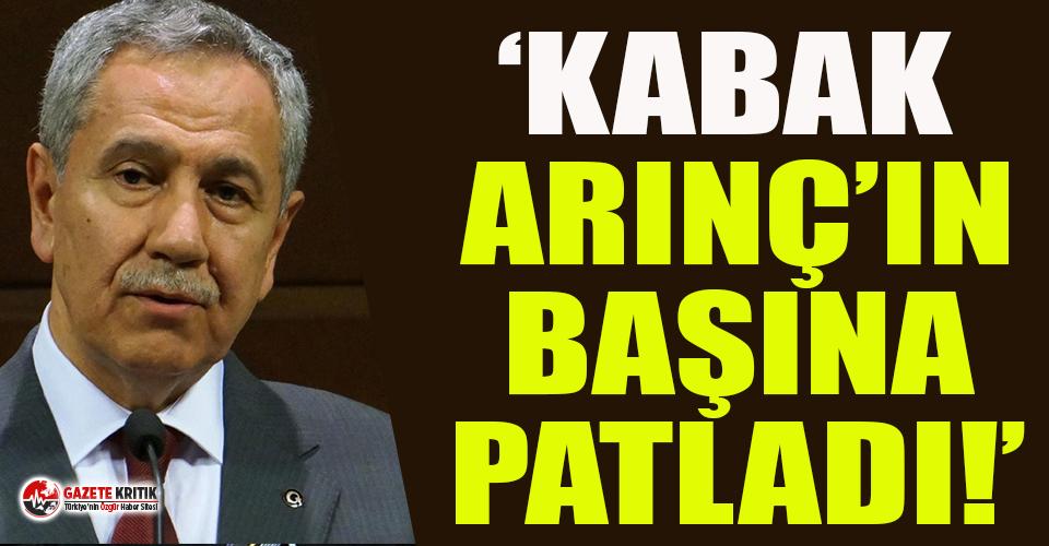 Erdoğan'ın eski danışmanından çok konuşulacak sözler! İşte Arınç'ın istifasının perde arkası...