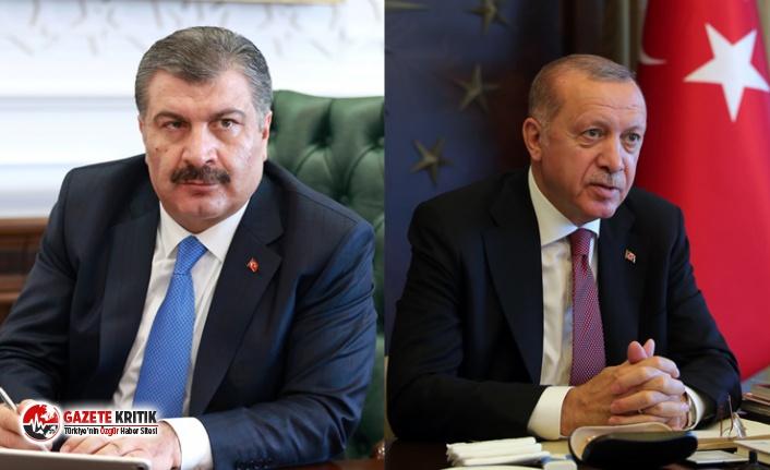 Erdoğan ve Koca'ya vaka sayılarını sakladıkları...