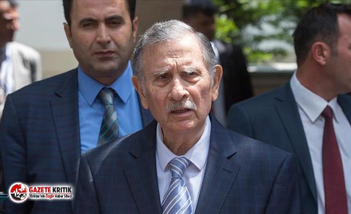 Eski başbakanlardan Yıldırım Akbulut hastaneye...