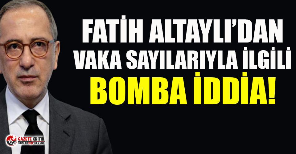 Fatih Altaylı'dan ''Türkiye'de...