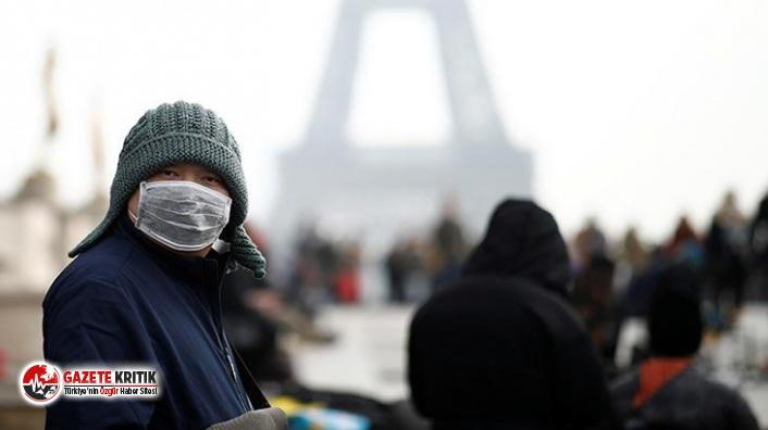 Fransa'da her 30 saniyede 1 kişi koronavirüs nedeniyle...