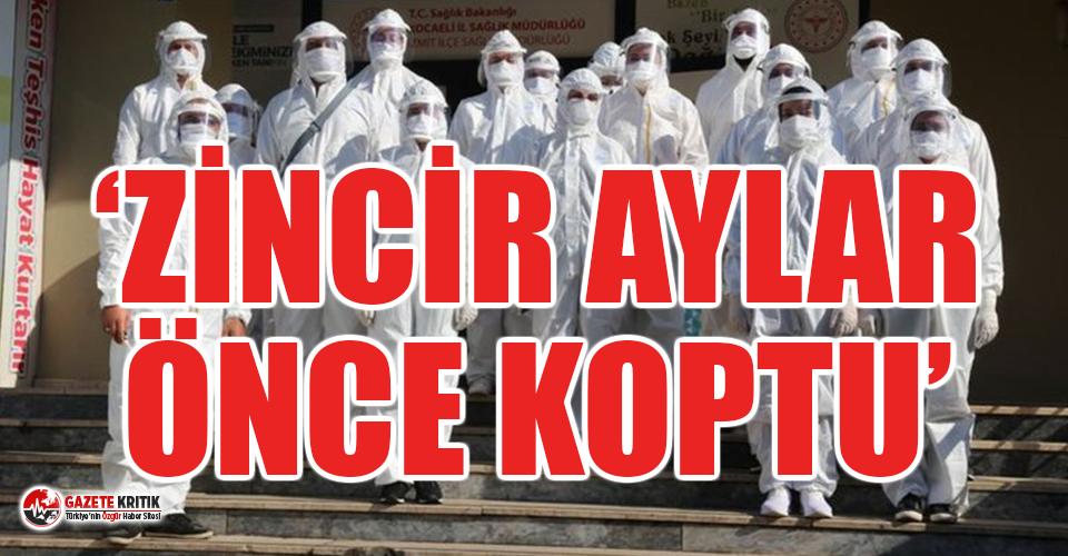 İstanbul'daki filyasyon ekiplerinden korkutan...