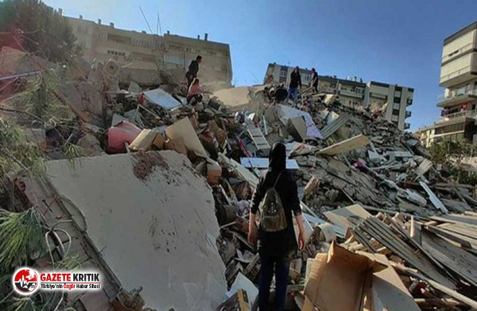İzmir 6,9'luk depremle yıkıldı! Can kaybı 55'e yükseldi