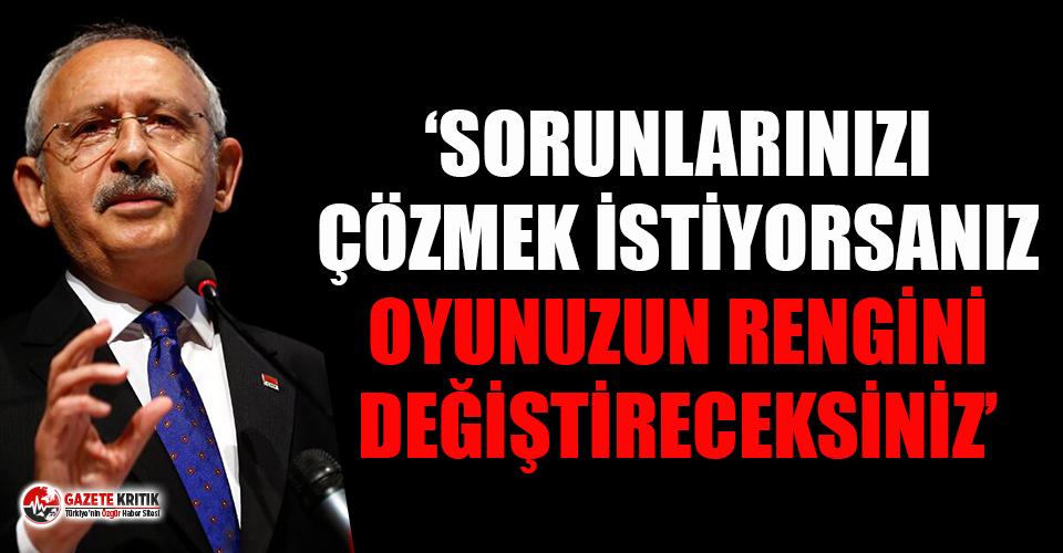 Kılıçdaroğlu Adana'da esnaf buluşmasında...