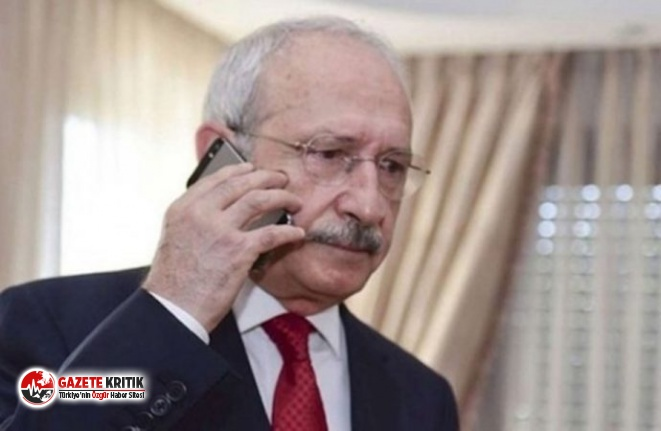 Kılıçdaroğlu'ndan Davutoğlu'na 'geçmiş olsun' telefonu