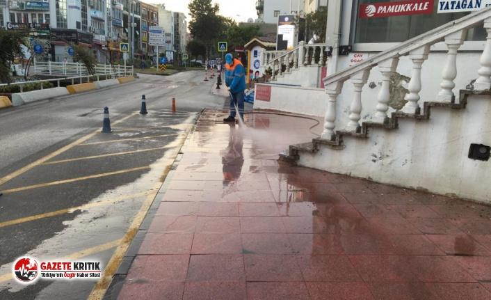 Kuşadası Belediyesi halk sağlığı için çalışmaya devam ediyor
