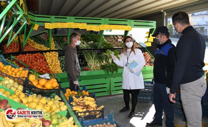 Kuşadası'nda gıda işletmelerine geniş çaplı...