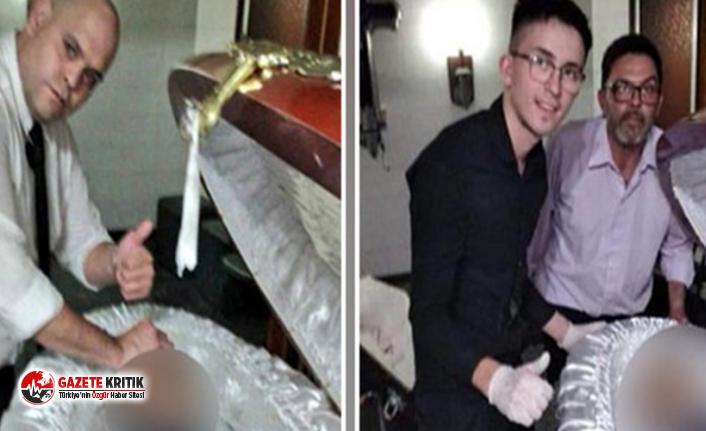 Maradona'nın cenazesinde skandal olay! Naaşıyla fotoğraf çektirdiler
