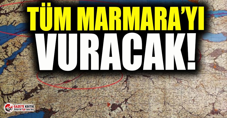 Marmara Bölgesi'nde katil fay alarmı!