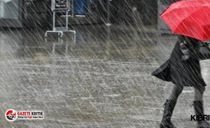 Meteoroloji il il açıkladı: Kuvvetli yağış ve...