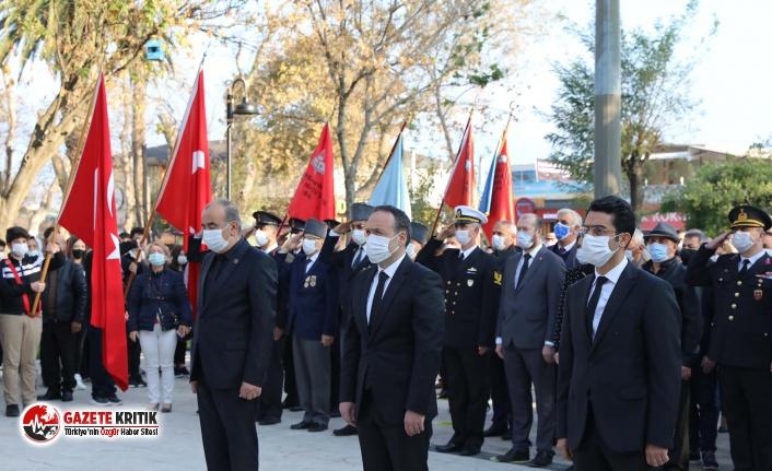 Mudanya Büyük Önder Atatürk'ü özlemle andı