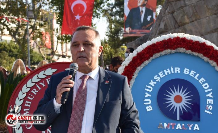 Nusret Bayar: 'Çirkin ellerinizi Antalya Büyükşehir Belediyesi'nin üzerinden çekin!'