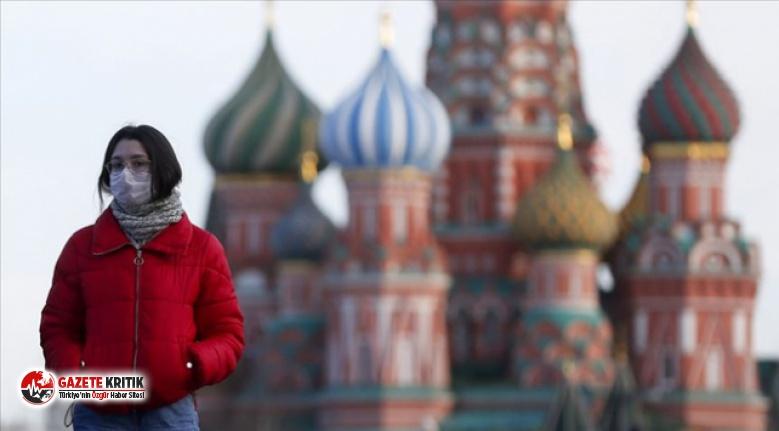 Rusya'da koronavirüs vaka sayısı 22 bin 572...